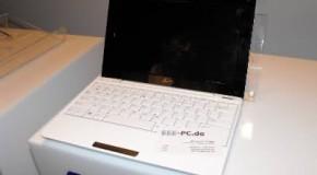 Netbooks de Asus cada vez más delgadas.