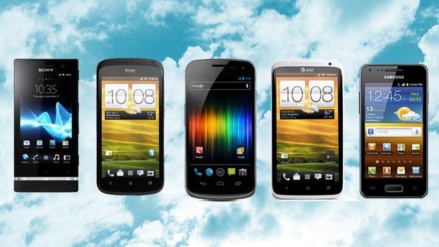Top celulares 2012